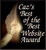 Caz's Best of the Best Website Award
