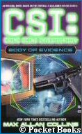 'CSI: Body of Evidence' - copyright Pocket Books