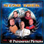'Star Trek the Captains 2003 Calendar' photo - courtesy Amazon.com, copyright Paramount Pictures