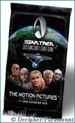 The Motion Pictures CCG Expansion Pack - Copyright Decipher/Paramount