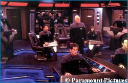 'Star Trek Nemesis' - courtesy Star Trek Communicator, copyright Paramount Pictures