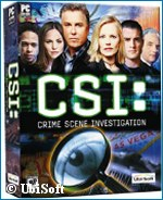 'CSI computer game' - copyright Ubi Soft