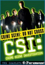 'CSI' Season One DVD Set - courtesy Amazon.com, copyright Paramount Home Entertainment