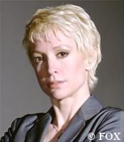 Nana Visitor on 'Dark Angel' - image copyright FOX