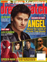 'Dreamwatch magazine - courtesy Dreamwatch magazine, copyright Titan Magazines