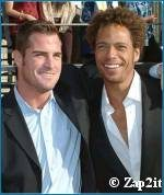 George Eads & Gary Dourdan photo - copyright Zap2it