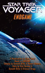 'Endgame' Novelisation Cover - courtesy Psi Phi, copyright Pocket Books