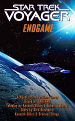 'Endgame' novelisation cover - courtesy Psi Phi, copyright Paramount Pictures