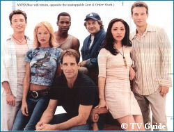 'Enterprise' Cast photo - courtesy TV Guide, copyright Paramount Pictures