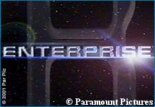 'Enterprise' logo - copyright Paramount Pictures