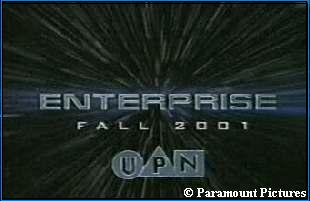 'ENTERPRISE' promo - copyright Paramount Pictures, courtesy MediaTrek