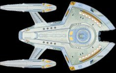 U.S.S. Equinox - courtesy Star Trek Interactive, Copyright Paramount