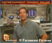 'Entertainment Tonight' Enterprise Bridge Visit - copyright Paramount Pictures