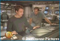 Entertainment Tonight 'Enterprise' Set Visit - copyright Paramount Pictures