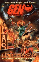 'Gen 13 - Netherwar' - Cover image Courtesy Amazon