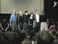 Voyager cast at Grand Slam - courtesy Official Jeri Lynn Ryan Homepage