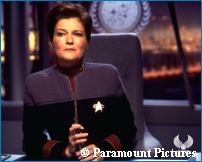 Admiral Janeway in 'Nemesis' - Courtesy Creation Entertainment - copyright Paramount Pictures