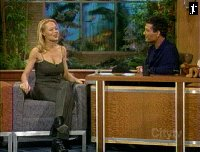 Jeri Ryan on the Howie Mandel show - courtesy the Official Jeri Lynn Ryan Homepage