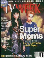 Jeri Ryan TV Week Cover - Courtesy Official Jeri Lynn Ryan Homepage