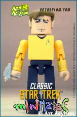 Captain Kirk MiniMate figure, copyright Art Asylum