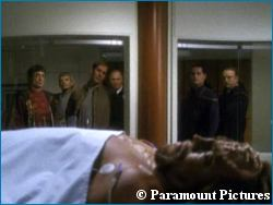 Enterprise sickbay photo - courtesy UPN 20, copyright Paramount Pictures
