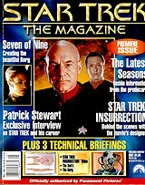 Star Trek: The Magazine Issue 1 - Cover image Copyright Star Trek: The Magazine!