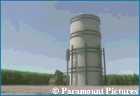 Farmer Moore's Silo - copyright Paramount Pictures