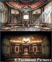 Romulan Senate concept art - copyright Paramount Pictures