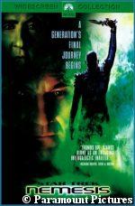 'Nemesis' DVD - copyright Paramount Pictures