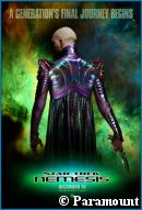 'Star Trek: Nemesis' teaser poster - copyright Faction Creative/Paramount Pictures