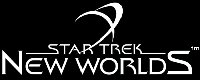 Star Trek: New Worlds Logo. Logo Copyright Interplay Production