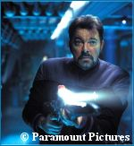 Riker in 'Nemesis' - courtesy Yahoo Movies, copyright Paramount Pictures