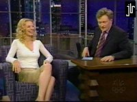 Jeri Ryan on 'Conan O'Brien' - courtesy the JLR