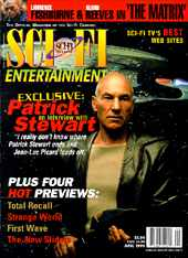 Sci-Fi Entertainment June Cover - copyright the Sci-Fi Channel