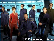 'Enterprise' cast photo - courtesy StarTrek.com, copyright Paramount Pictures