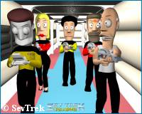 'Sev Trek movie' photo - courtesy sev.com.au, copyright Sev Trek