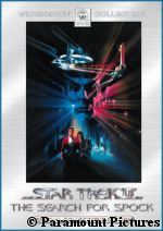 'Star Trek III' DVD - courtesy Amazon.com, copyright Paramount Pictures