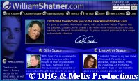'WilliamShatner.com' - courtesy WilliamShatner.com, copyright DHG & Melis Productions
