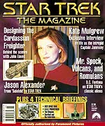 Star Trek The Magazine Issue 2 - cover image copyright Star Trek The Magazine
