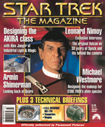 Star Trek The Magazine Issue 3 - cover image copyright Star Trek The Magazine