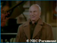 'Patrick Stewart on Frasier' - copyright NBC/Paramount Pictures