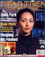 'Star Trek: The Magazine' February 2002 issue - copyright Paramount Pictures