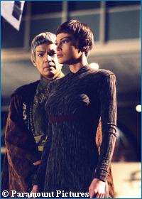T'Pol and Soval in 'The Expanse' - courtesy UPN, copyright Paramount Pictures