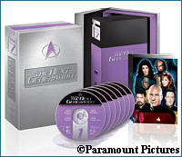 TNG Season 7 DVD set - courtesy Amazon.com, copyright Paramount Pictures