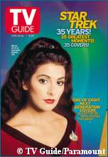 April 20th TV Guide 'Deanna Troi' Cover - Copyright TV Guide/Paramount