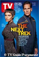 'TV Guide' cover photo - courtesy TV Guide, copyright TV Guide/Paramount Pictures