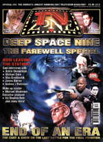TV Zone DS9 special - copyright Visual Imaginations Publications