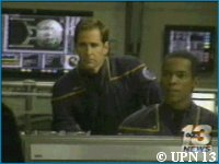 UPN 13 'Enterprise' Set Visit - copyright UPN 13