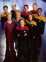 'Voyager' season seven crew photo - copyright Paramount Pictures