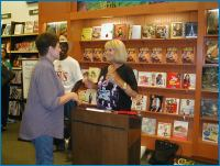 'Grace Lee Whitney' book signing - Courtesy of 'Gelpack'
